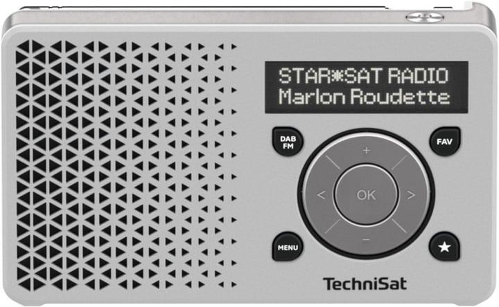 Digitradio 1 - Bianco Radio DAB+ Technisat 785300134721 N. figura 1