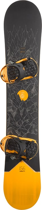 Sight inkl. Rhythm Snowboard Unisex Salomon 494545316220 Farbe schwarz Länge 162 Bild-Nr. 1