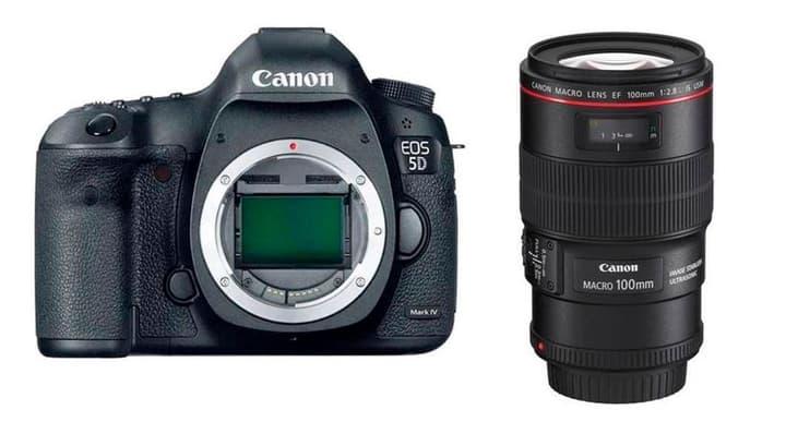 EOS 5D Mark IV + EF 100mm Makro Spiegelreflexkamera Kit Canon 785300126135 Bild Nr. 1