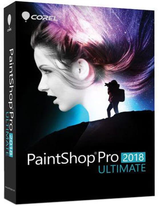 PC - Paint Shop Pro 2018 Ultimate - version complète Physique (Box) Corel 785300131455 Photo no. 1