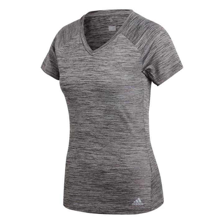 FREELIFT TEE Damen-T-Shirt Adidas 464920600483 Farbe Dunkelgrau Grösse M Bild-Nr. 1