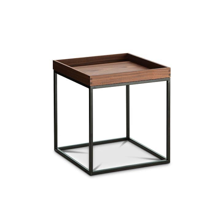 COFFEE table d'appoint 360975600000 Dimensions L: 35.0 cm x P: 35.0 cm x H: 39.0 cm Couleur Noyer Photo no. 1
