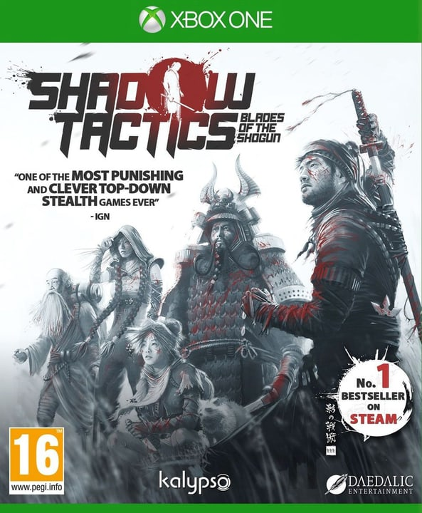 Xbox One - Shadow Tactics: Blades of the Shogun Physique (Box) 785300122076 Photo no. 1