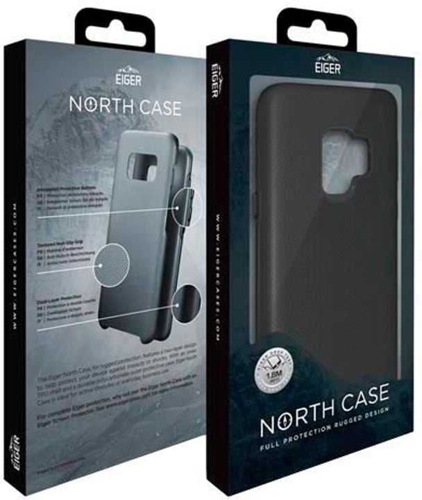 "Hard Cover  ""Eiger North Rugged black"" Coque Eiger 785300148254 Photo no. 1"