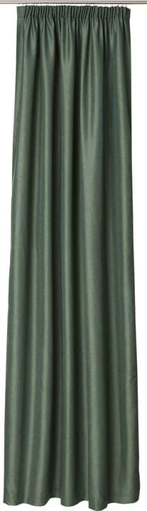 ADRIANA Rideau prêt à poser nuit 430264421862 Couleur Vert moyen Dimensions L: 150.0 cm x H: 260.0 cm Photo no. 1