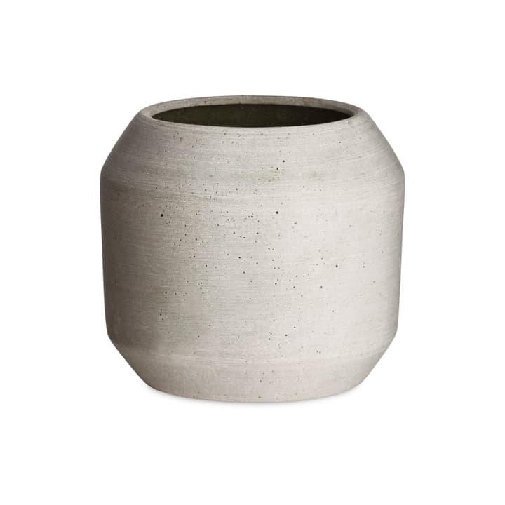 MILENO Übertopf 382107300000 Grösse H: 16.5 cm Farbe Grau Bild Nr. 1