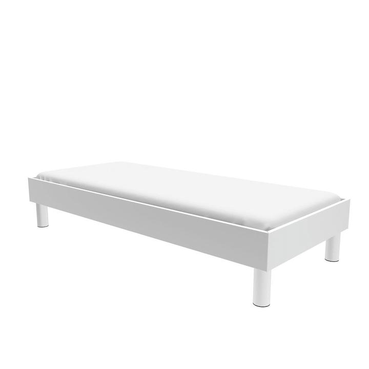 TOPLINE Letto HASENA 403559100000 Colore Bianco Dimensioni L: 90.0 cm x P: 200.0 cm N. figura 1