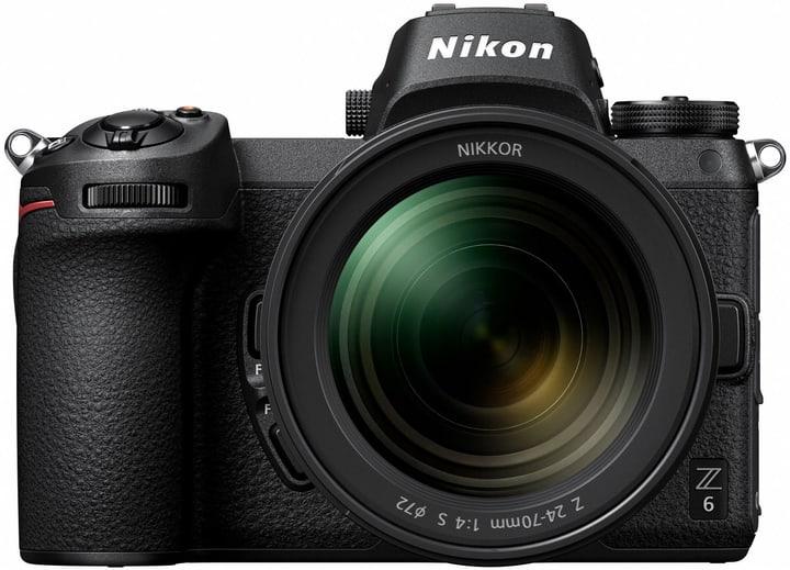 Z 6 Kit 24-70mm f/4 S Systemkamera Nikon 793436700000 Bild Nr. 1