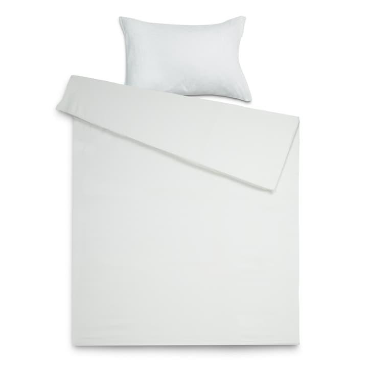 DAHLIA Federa per piumino raso 376030217605 Dimensioni L: 210.0 cm x L: 200.0 cm Colore Bianco N. figura 1