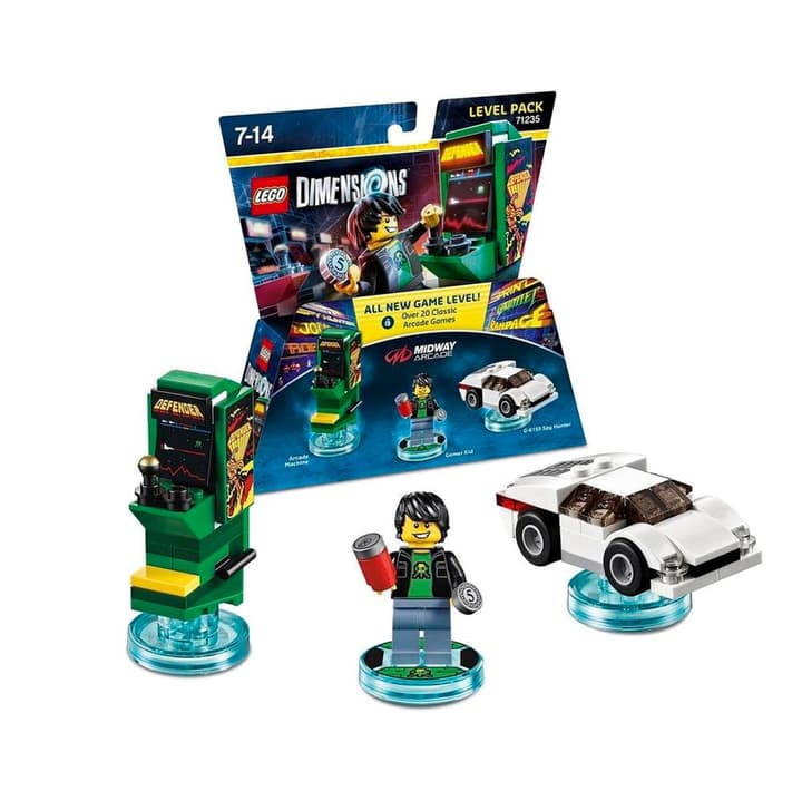 "LEGO Dimensions Level Pack ""Midway Arcade"" 785300120649 N. figura 1"