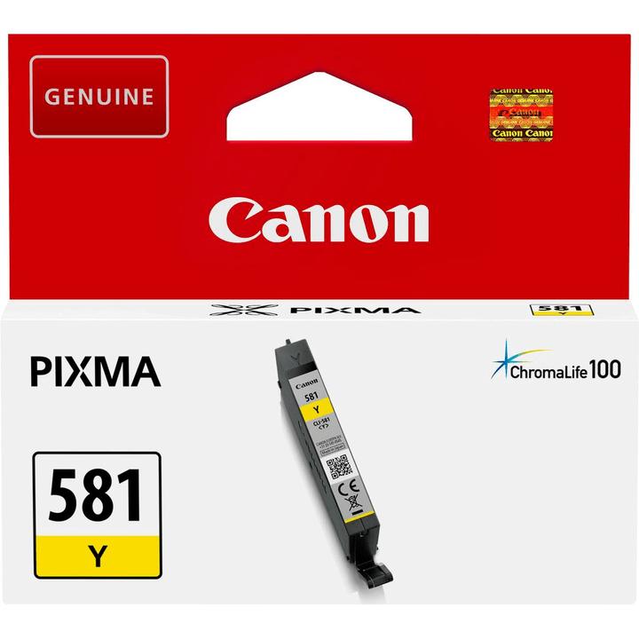 CLI-581 Tintenpatrone gelb Tintenpatrone Canon 798551900000 Bild Nr. 1