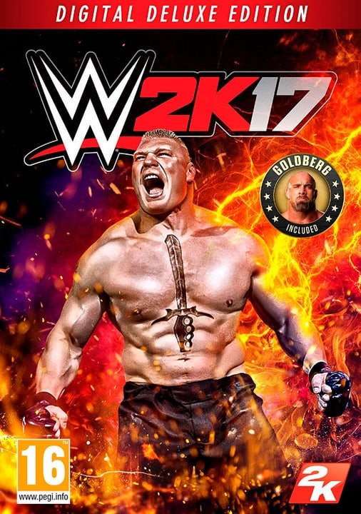 PC - WWE 2K17 Digital Deluxe Edition Download (ESD) 785300133868 N. figura 1