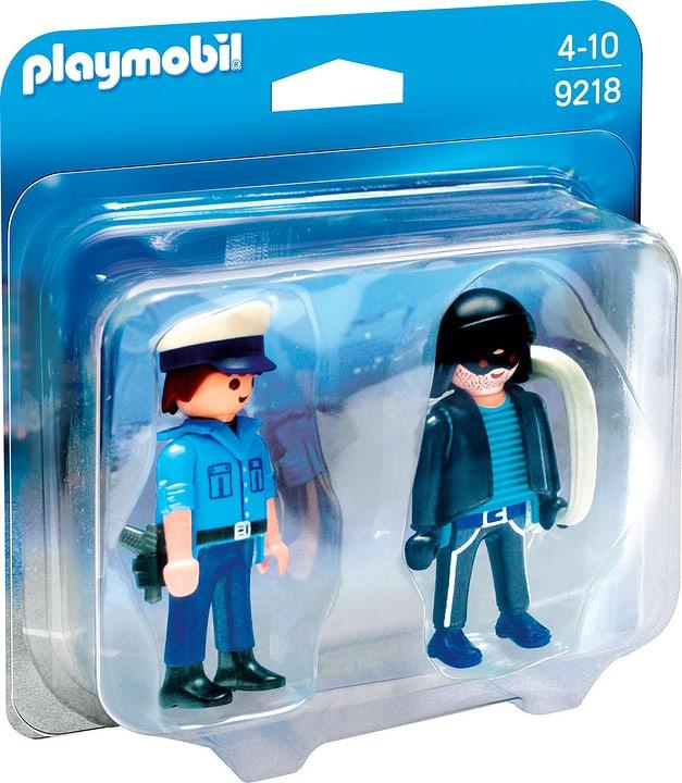 Playmobil Duo Packs Policier et voleur 9218 746077000000 Photo no. 1