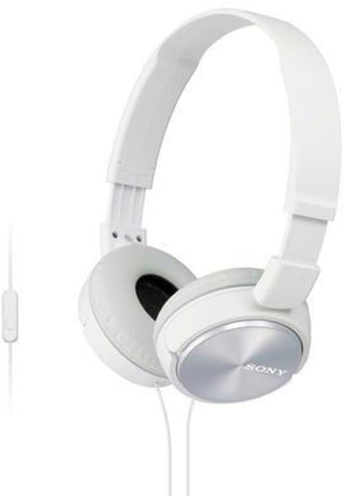 MDR-ZX310APB Casque blanc Sony 785300123836 Photo no. 1