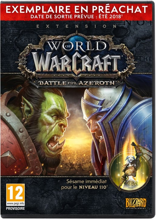 PC - World of Warcraft: Battle for Azeroth - Pre Sell Box (F) Fisico (Box) 785300132174 N. figura 1