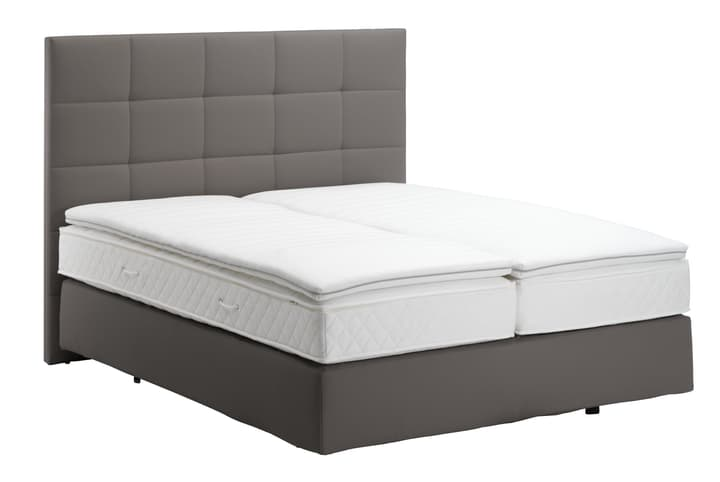 NAVIER Lit Boxspring 403460700000 Couleur Anthracite Dimensions L: 160.0 cm x P: 200.0 cm Photo no. 1