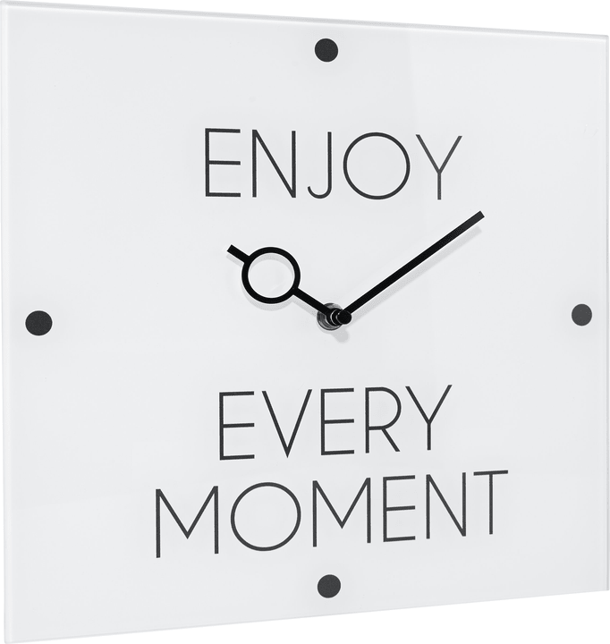 ENJOY EVERY MOMENT orologio a parete 433014100000 N. figura 1