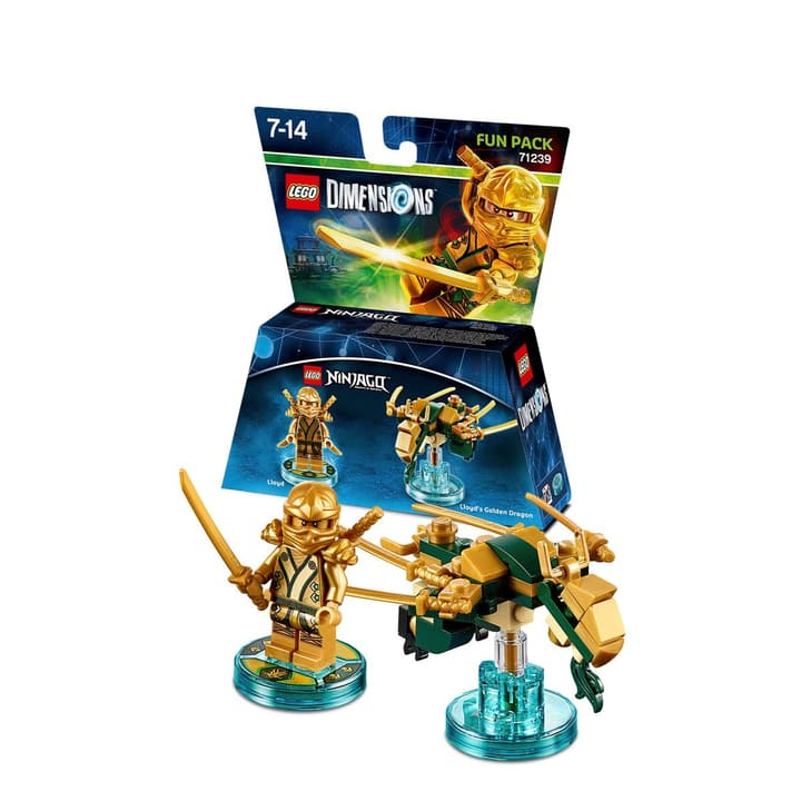 "LEGO Dimensions Fun Pack LEGO Ninjago ""Lloyd"" 785300119988 Photo no. 1"