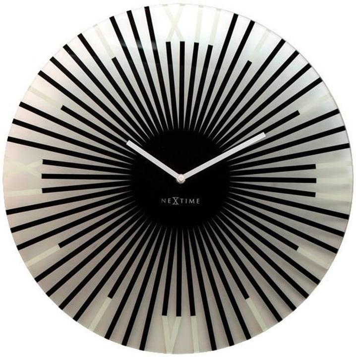 Orologio da muro Stick Black Diameter Horologe murale NexTime 785300140297 N. figura 1