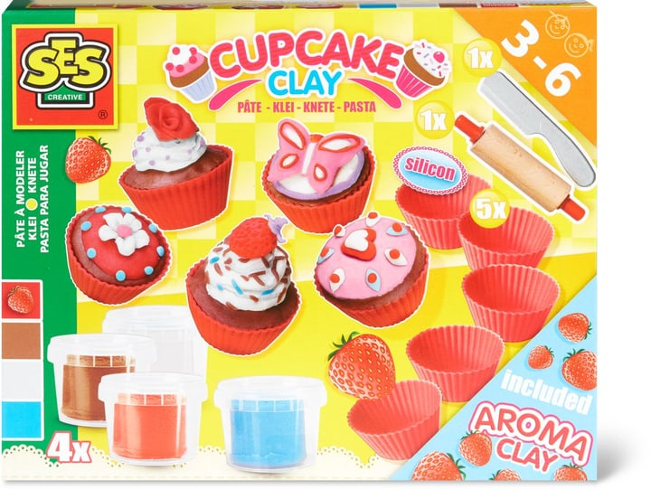 SES Cupcake Pasta da Modellare 746125200000 N. figura 1