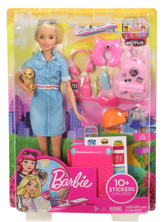 Barbie FWV25 Travel Poupée 746567800000 Photo no. 1