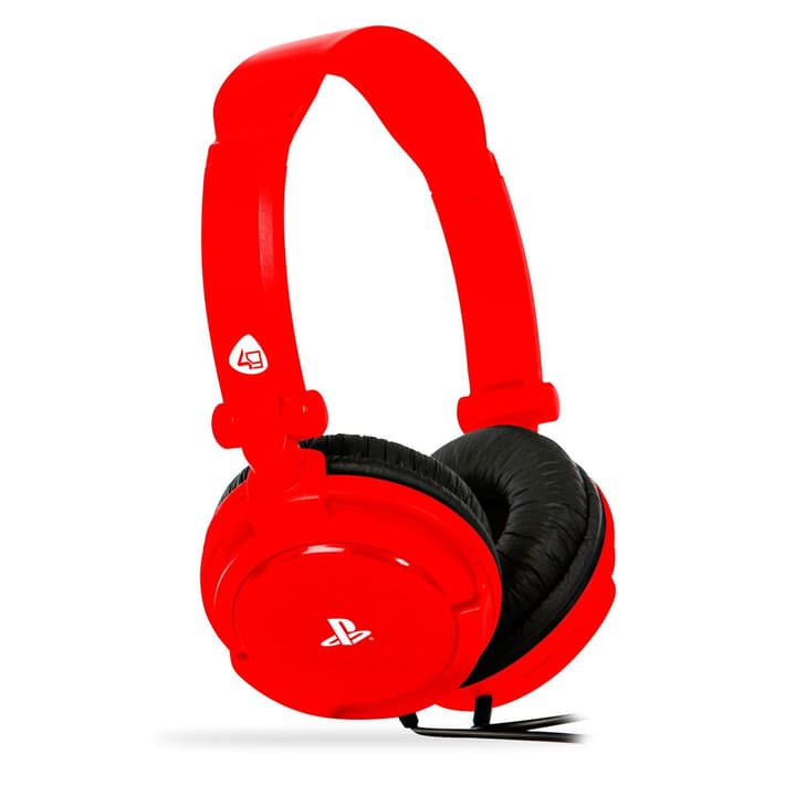 PRO4-10 Stereo Gaming Headset rouge Casque d'écoute 4gamers 785300127234 Photo no. 1