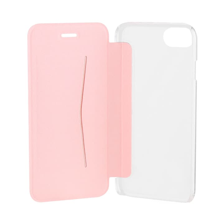 Flap Cover Adour for iPhone 7 oro rosa XQISIT 798065400000 N. figura 1