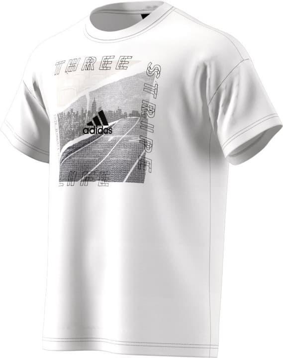 ID Photo Tee T-shirt da uomo Adidas 464207300310 Colore bianco Taglie S N. figura 1