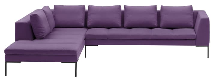 BADER Ecksofa 405686450723 Grösse B: 319.0 cm x T: 230.0 cm x H: 80.0 cm Farbe Violett Bild Nr. 1