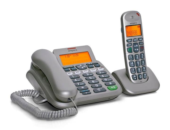 D40ABB Téléphone fixe Kit Emporia 785300125393 Photo no. 1