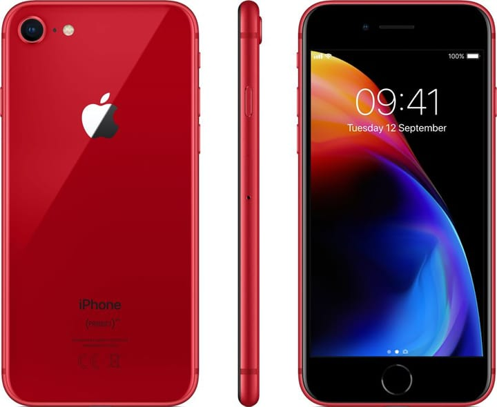 iPhone 8 rot 64GB Smartphone Apple 785300134675 Bild Nr. 1