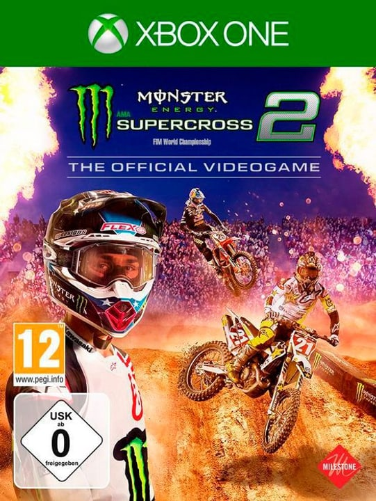 Xbox One - Monster Energy Supercross - The Official Videogame 2 Box 785300140762 N. figura 1