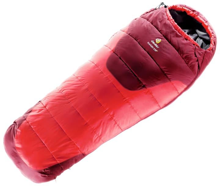 Starlight EXP sac de couchage pour enfants Deuter 490723210030 Couleur rouge Longueur à gauche Photo no. 1