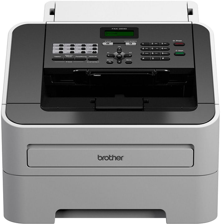 FAX-2840 Télécopieur laser Brother 785300124016 Photo no. 1