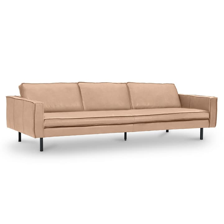 TEXADA II Corrida canapé en cuir à 4 places 360051671203 Dimensions L: 241.0 cm x P: 95.0 cm x H: 61.0 cm Couleur Taupe Photo no. 1