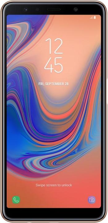 Galaxy A7 Dual SIM 64GB gold Smartphone Samsung 794631800000 Bild Nr. 1