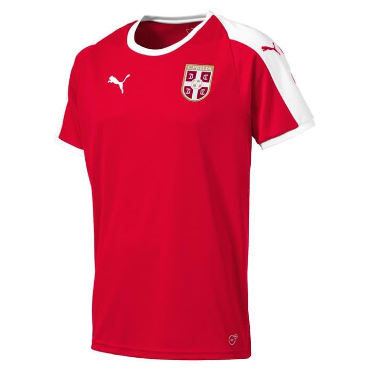 SERBIA Home Shirt SS Replica JR Maillot de football Serbie à domicile pour enfant, Réplique Puma 464592512830 Couleur rouge Taille 128 Photo no. 1