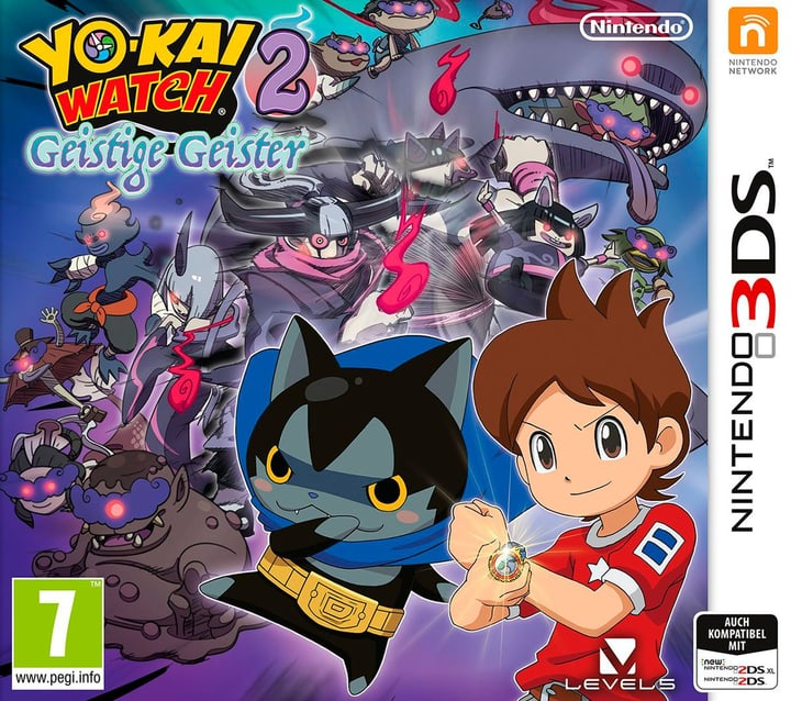 3DS - Yo-Kai Watch 2 - Geistige Geister Physique (Box) 785300129022 Photo no. 1