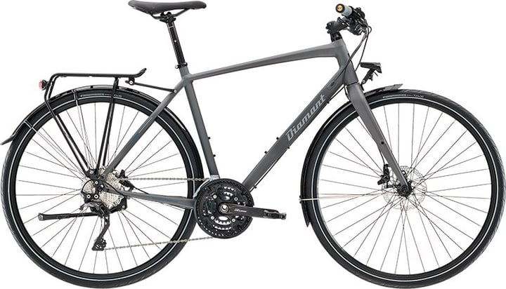 "Rubin Super Legere 28"" Citybike Diamant 463348400480 Rahmengrösse M Farbe grau Bild Nr. 1"