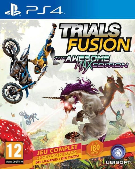 PS4 - Trials Fusion: The Awesome Max édition Box 785300122093 Photo no. 1