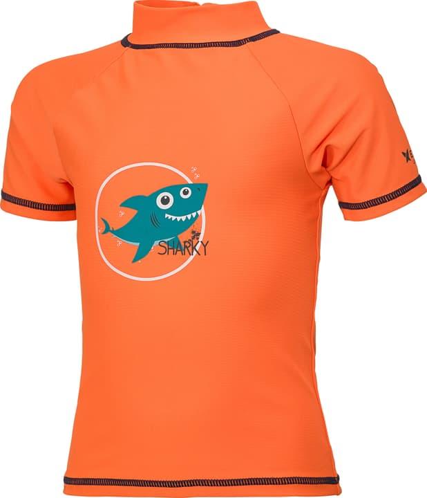 T-shirt de bain U.V.P. pour garçon Extend 472336908634 Couleur orange Taille 86 Photo no. 1