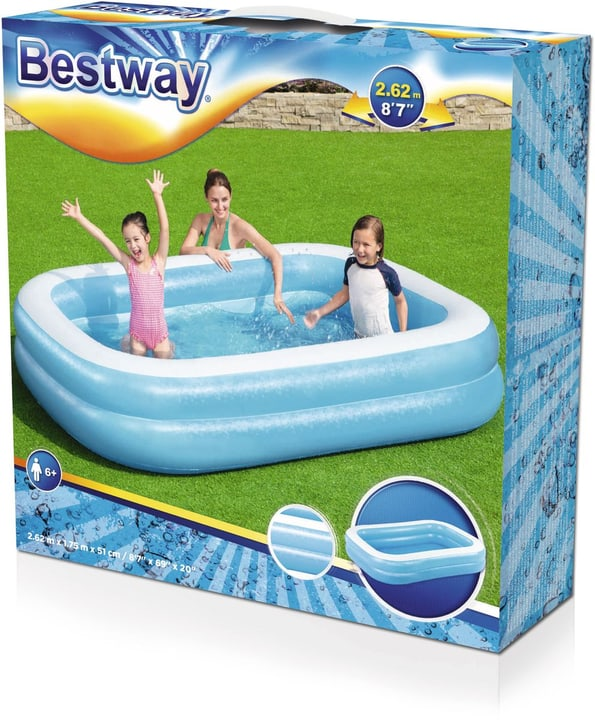 Bestway Family Pool 262x175x51 cm Bestway 745852300000 Photo no. 1