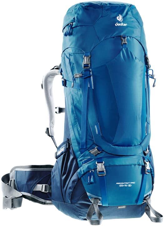 Aircontact Pro 55+15 SL Zaino per donna Deuter 460235800040 Colore blu Taglie Misura unitaria N. figura 1