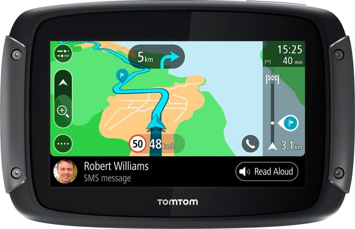 RIDER 500 EU noir Navigation GPS TOMTOM 785300143830 Photo no. 1