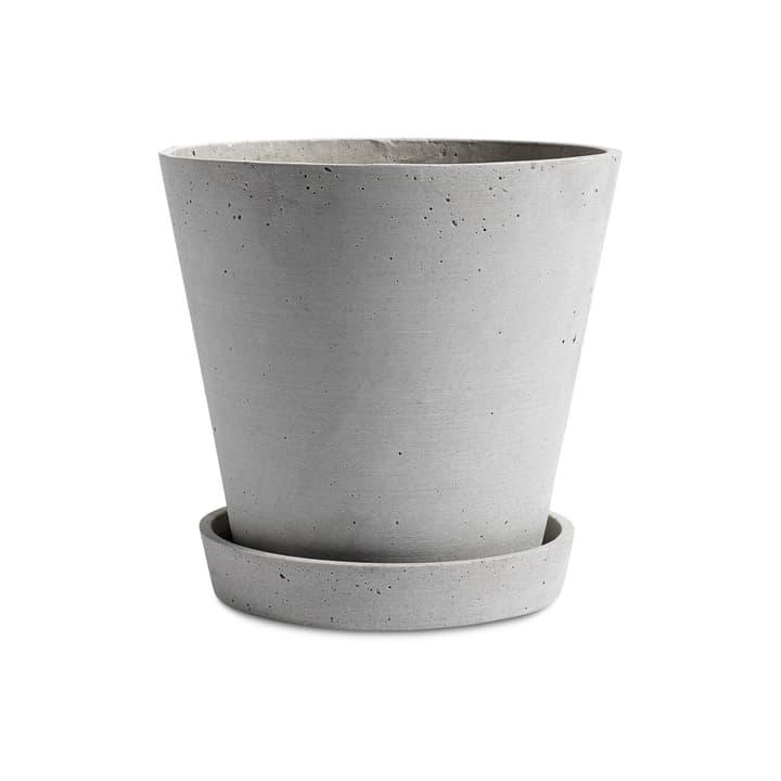 FLOWER POT / XL Cache-pot HAY 382076400000 Dimensions H: 20.0 cm Couleur Gris Photo no. 1