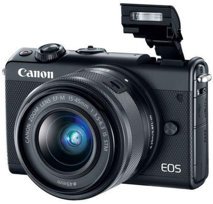 EOS M100 15-45mm noir Kit appareil photo système Canon 785300134971 Photo no. 1