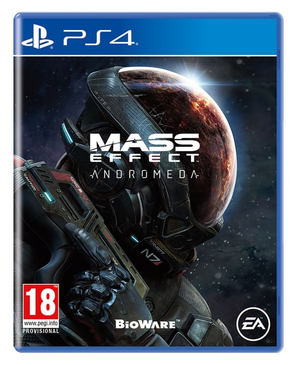 PS4 - Mass Effect - Andromeda Fisico (Box) 785300121660 N. figura 1
