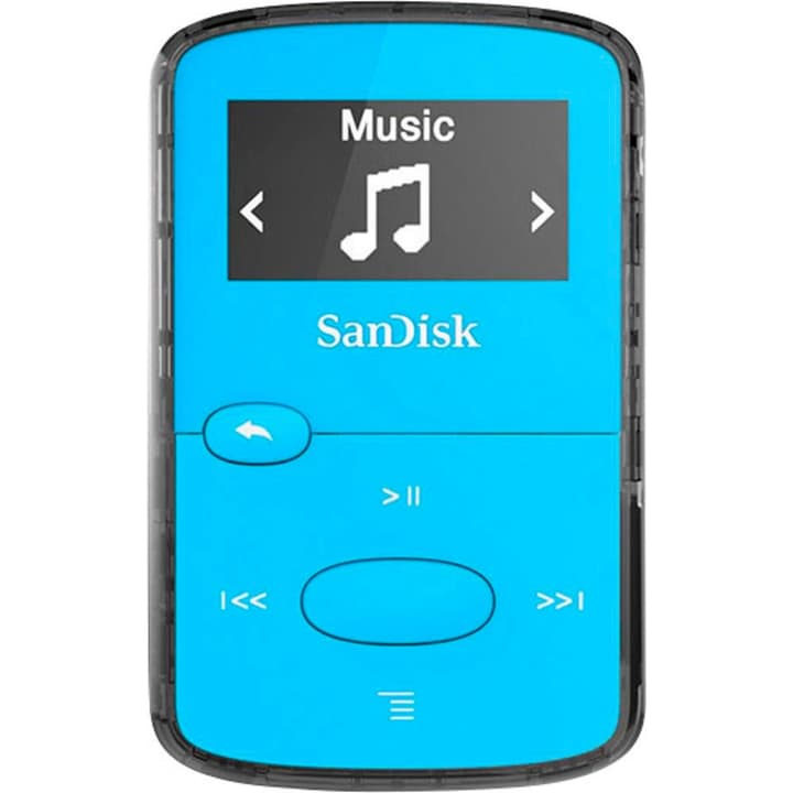 Clip Jam 8GB - Blau MP3 Player SanDisk 785300126094 Bild Nr. 1