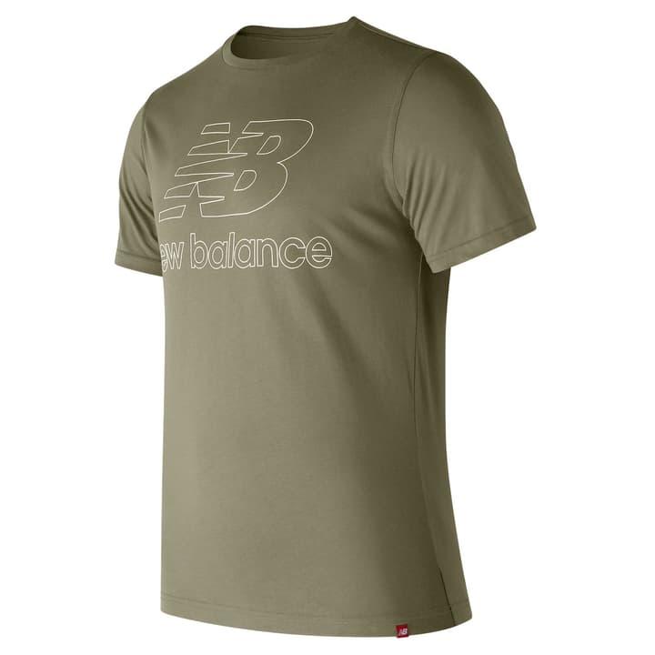 Essentials Landing Tee T-shirt pour homme New Balance 462383400664 Couleur kaki Taille XL Photo no. 1