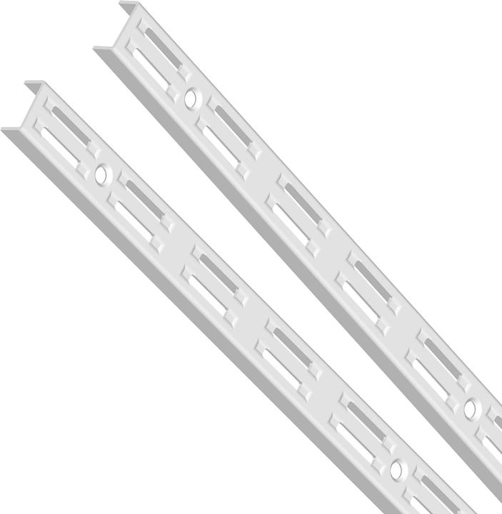 Guida a parete, 2 file bianche 1500 mm 2x ELEMENTSYSTEM 603441000000 N. figura 1